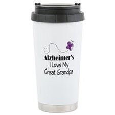 Alzheimer's Love My Great Grandpa Travel Mug