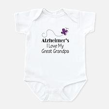 Alzheimer's Love My Great Grandpa Infant Bodysuit