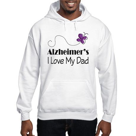 Alzheimer's Love My Dad Hooded Sweatshirt