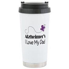 Alzheimer's Love My Dad Travel Coffee Mug