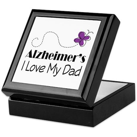 Alzheimer's Love My Dad Keepsake Box