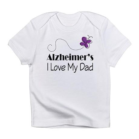 Alzheimer's Love My Dad Infant T-Shirt
