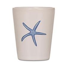 Blue Starfish Shot Glass