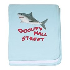 Occupy Wall Street baby blanket