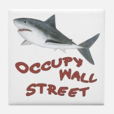 Occupy Wall Street Tile Coaster