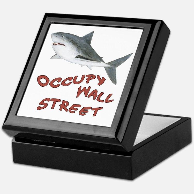 Occupy Wall Street Keepsake Box