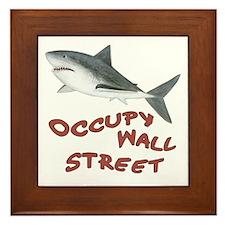Occupy Wall Street Framed Tile