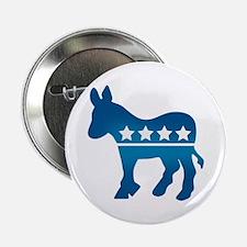 "Democrats Donkey 2.25"" Button"