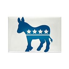 Democrats Donkey Rectangle Magnet