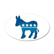 Democrats Donkey Wall Decal