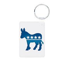 Democrats Donkey Keychains