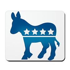 Democrats Donkey Mousepad