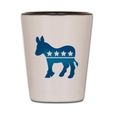 Democrats Donkey Shot Glass