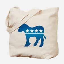 Democrats Donkey Tote Bag