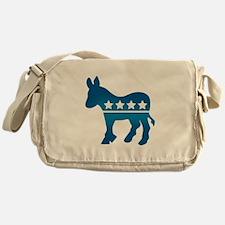Democrats Donkey Messenger Bag