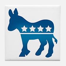 Democrats Donkey Tile Coaster
