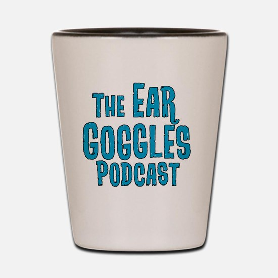 Cool Podcast Shot Glass