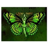 Green fairy Wrapped Canvas Art