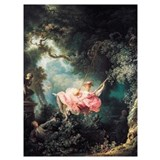Fragonard swing Wrapped Canvas Art