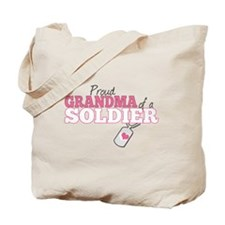 Grandma of a US Soldier- Tote Bag
