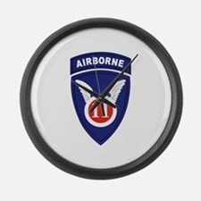 Funny Airborne Large Wall Clock
