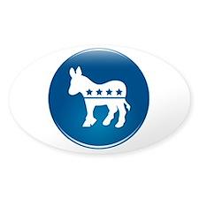 Democrats Donkey Decal