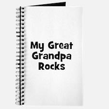 My Great Grandpa Rocks Journal