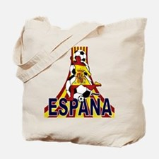 Espana Spain Soccer Fútbol Tote Bag