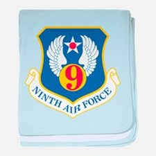 Air force wall baby blanket