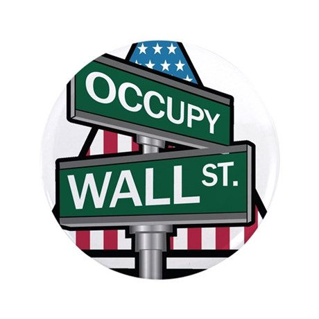 "Occupy Wall Street - We Are The 99% 3.5"" Button"
