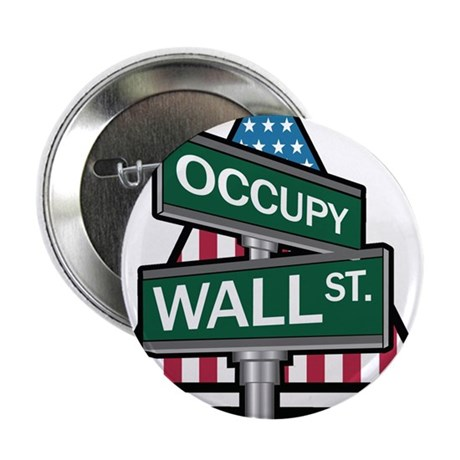 """Occupy Wall Street - We Are The 99% 2.25"""" Button ("""