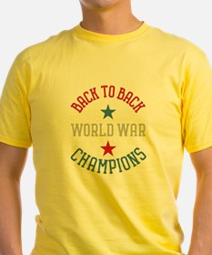 Unique Back to back world war champions T