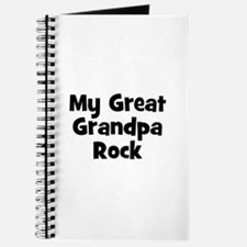 My Great Grandpa Rock Journal