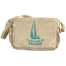 I'd rather be sailing Messenger Bag