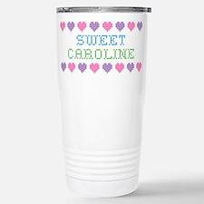 Sweet CAROLINE Stainless Steel Travel Mug