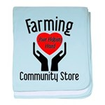 Farming Community Store baby blanket