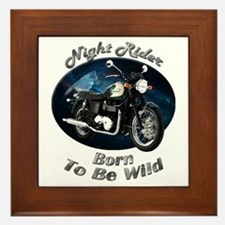 Triumph Bonneville Framed Tile