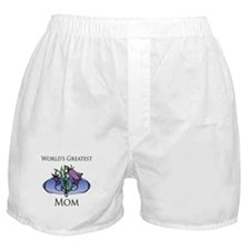 World's Greatest Mom (Floral) Boxer Shorts