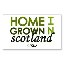 'Home Grown In Scotland' Decal