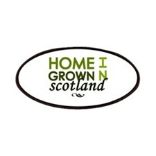 'Home Grown In Scotland' Patches