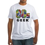 80s Geek Fitted T-Shirt