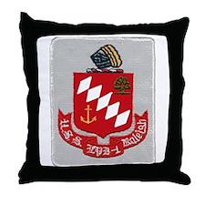 USS Raleigh LPD 1 Throw Pillow