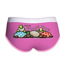 Island Time Turtle Women's Boy Brief