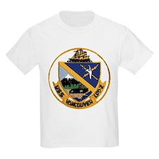 USS Vancouver LPD 2 Kids T-Shirt