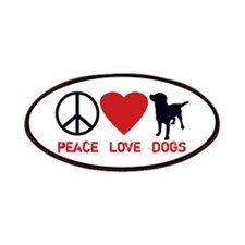 Peace Love Dogs Patches