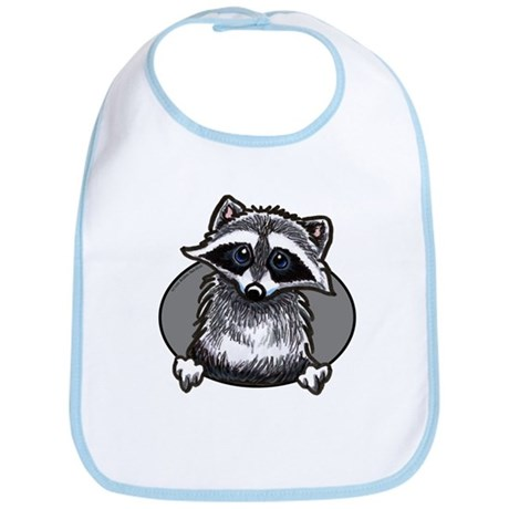 Raccoon Lover Bib
