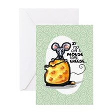 Funny Wine n Cheese Cartoon Any Occasion Card
