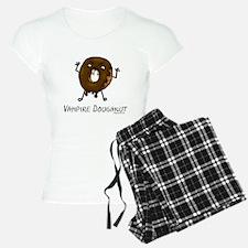 Vampire doughnut funny Pajamas