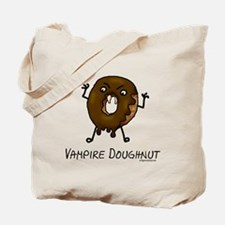 Vampire doughnut funny Tote Bag