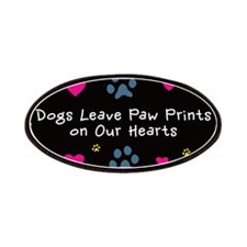 Dogs Leave Paw Prints Patches